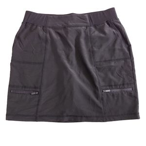 Chico's Zenergy Zippered Skort Size 1